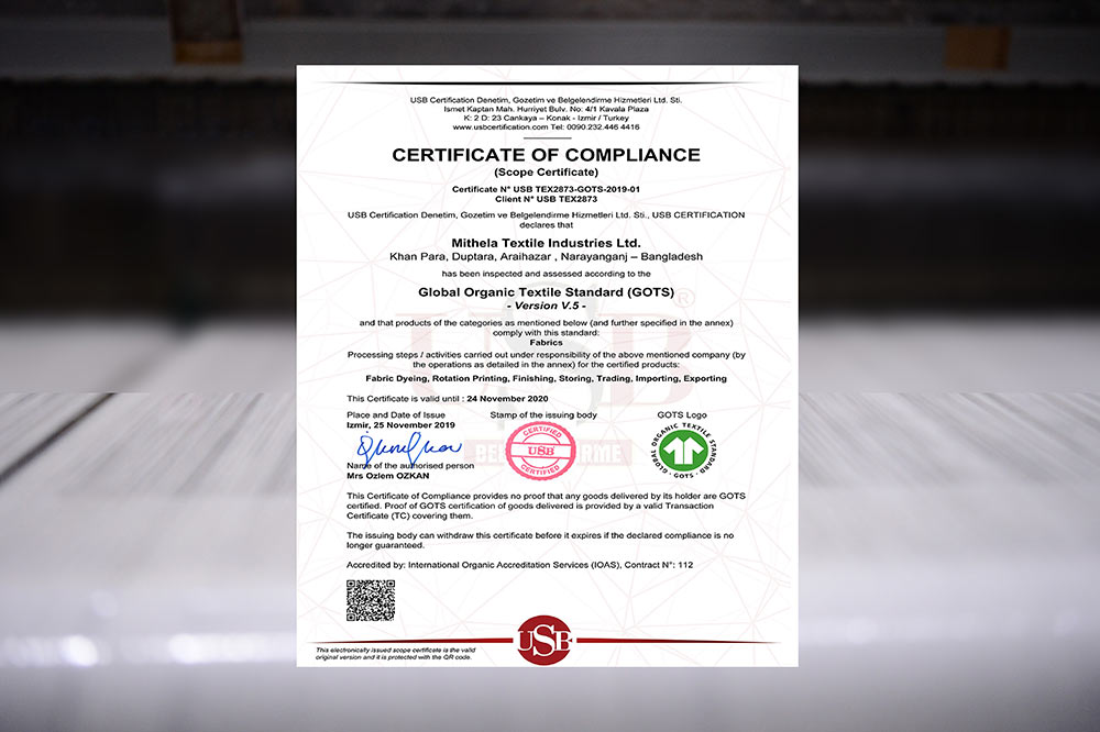 MithelaGroup-OurCertificate
